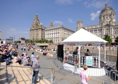 Bandstand For Hire Liverpool