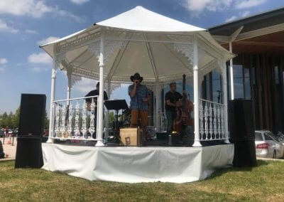 Bandstand for hire
